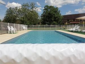 12m by 5m salt water pool