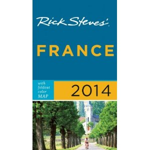 Le Chevrefeuille has been added to the Rick Steves guidebook for France 2014