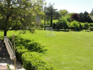 Football and swingball