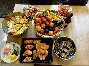 Fresh Food at Le Chevrefeuille