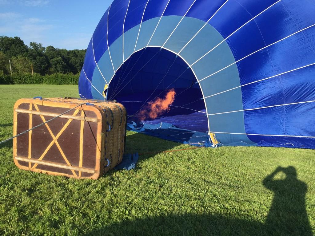 Hot air balloon dordogne