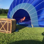 Hot air balloon dordogne